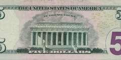 5 долларов 2006 г. 2 вариант (США)