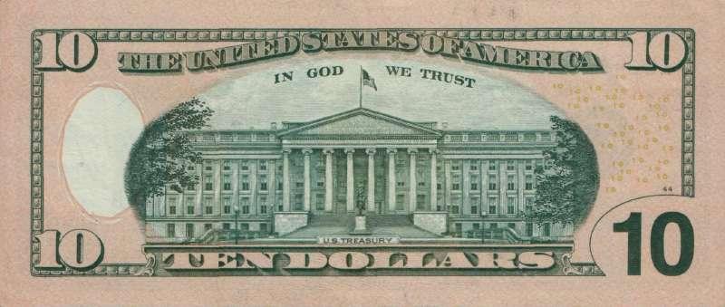 10 долларов 2006 г. (США)