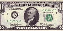 10 долларов 1969 г. (США)