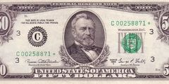 50 долларов 1969 г. (США)