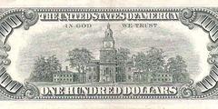 100 долларов 1969 г. (США)