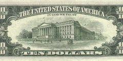 10 долларов 1974 г. (США)