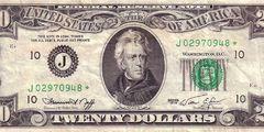 20 долларов 1974 г. (США)