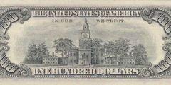 100 долларов 1974 г. (США)
