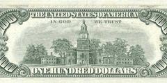 100 долларов 1977 г. (США)