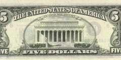 5 долларов 1981 г. (США)