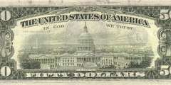 50 долларов 1981 г. (США)