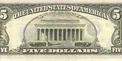 5 долларов 1985 г. (США)