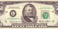 50 долларов 1985 г. (США)