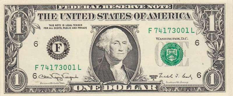 1 доллар 1988 г. (США)