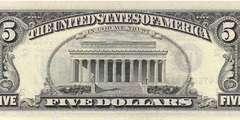 5 долларов 1988 г. (США)