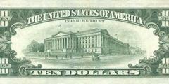 10 долларов 1988 г. (США)
