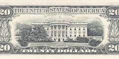 20 долларов 1988 г. (США)