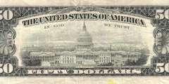50 долларов 1988 г. (США)