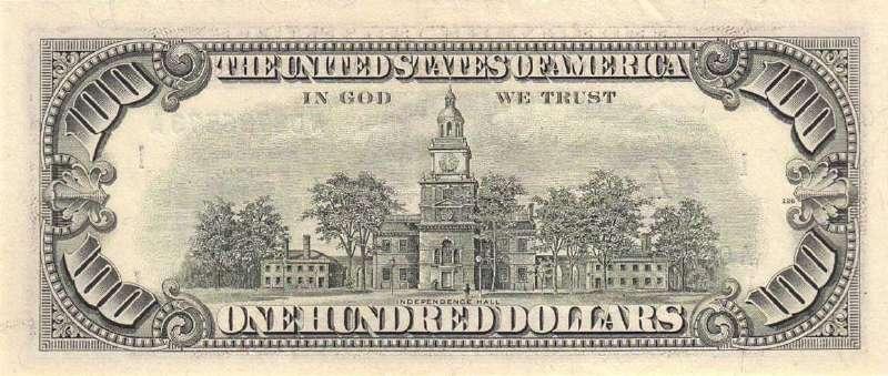 100 долларов 1988 г. (США)