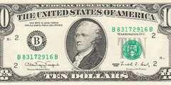 10 долларов 1990 г. (США)