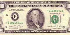 100 долларов 1990 г. (США)