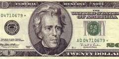 20 долларов 1996 г. (США)