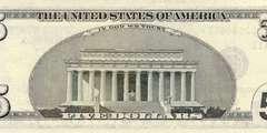 5 долларов 2001 г. (США)