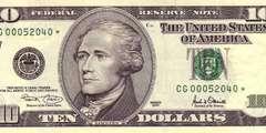 10 долларов 2001 г. (США)