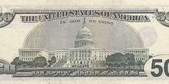 50 долларов 2001 г. (США)