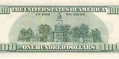 100 долларов 2001 г. (США)