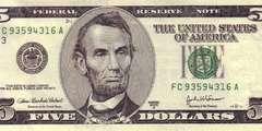 5 долларов 2003 г. (США)
