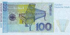 100 немецких марок 1996 г. (Германия).