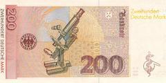 200 немецких марок 1996 г. (Германия).