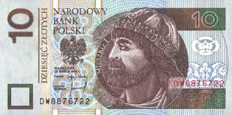 10 злотых 1994 г. (Польша).