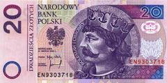 20 злотых 1994 г. (Польша).