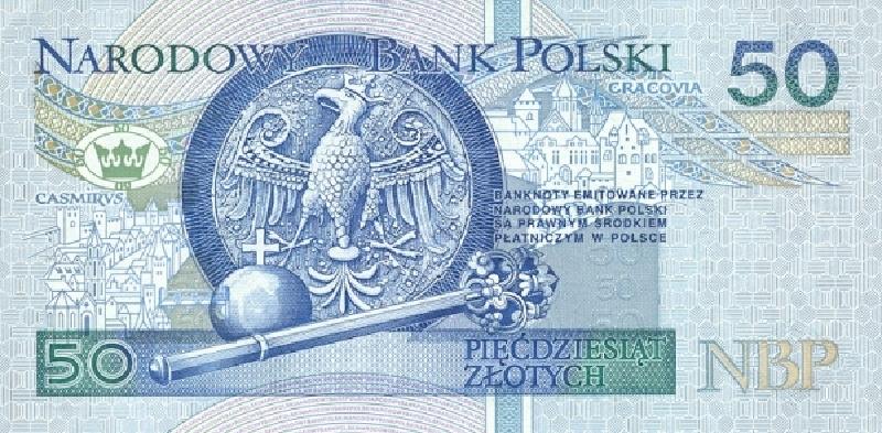 50 злотых 1994 г. (Польша).