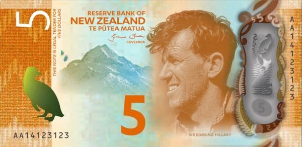 5 новозеландских долларов пачка рублей фото